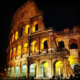 Colosseum at night, Ryan & Asha - April 2013