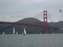 Right under the Golden Gate Bridge! - December 2011