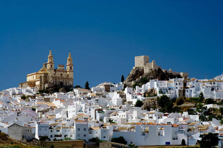 Olvera is a white village (pueblo blanco) in Cadiz province, Andalucia, Spain