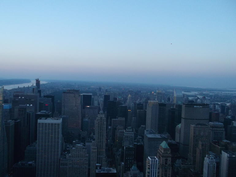 On top of the world! - New York City