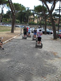 Our Segway tour begins after a brief orientation on the operation of the Segway and a 15-minute practice in a park setting. Our guide has a specific route that avoids major streets, curbs, and steps ... , Glenn L - August 2009