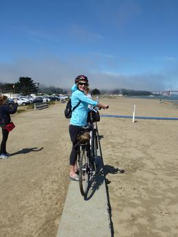 Photo of San Francisco San Francisco Golden Gate Bridge Bike Tour The fog is lifting!