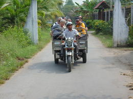 Photo of Ho Chi Minh City Mekong Delta Discovery Small Group Adventure Tour from Ho Chi Minh City tuck tuck ride