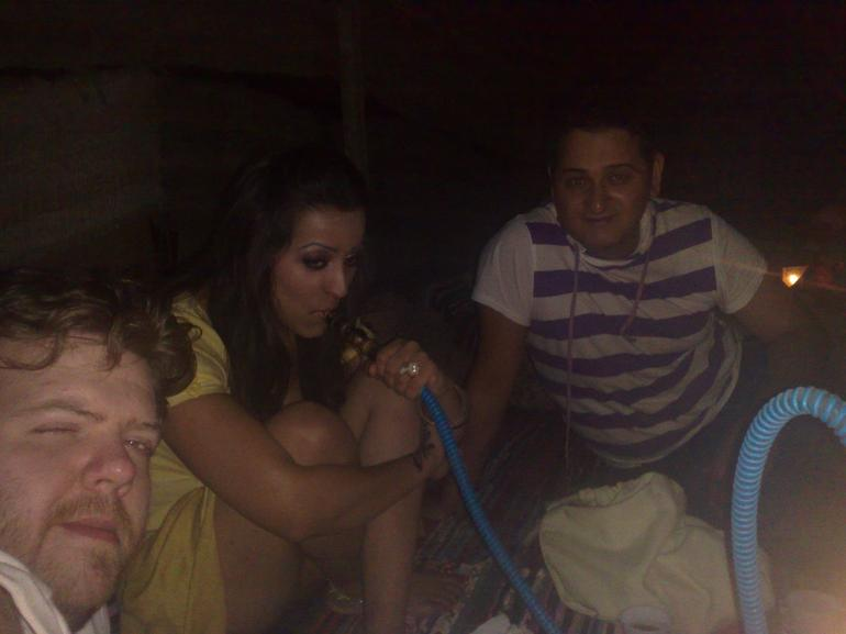 Us, chilling with the Bedouins under the nite sky! - Sharm el Sheikh