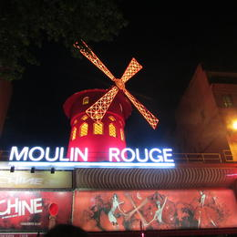 Photo of Paris Dinner and Show at the Paris Moulin Rouge with Transport What a Show!