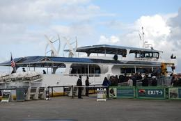 Wind and solar powered ferry takes you to the island, Sam B - April 2014