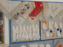 One of the fine lace shops to choose from. , huntnreid - October 2012