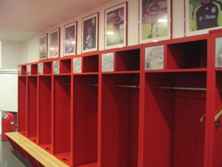 Changing room - Munich