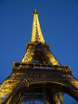 Photo of Paris Eiffel Tower Dinner and Seine River Cruise Effiel Tower at Sunset