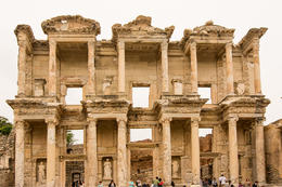 Touring the Ephesus Library , Dennis P - June 2013