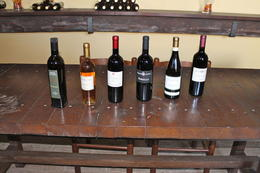 Here are some wine options at the vineyard. , Harry_NB - May 2012