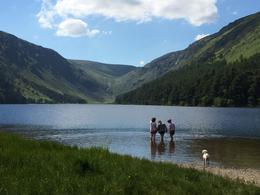 The Upper Lake at Glendalough , Kimberley S - July 2014