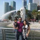 Photo of Singapore Singapore City Tour with optional Singapore Flyer In Front of the Merlion in Singapore