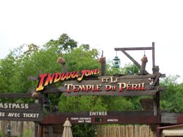 Indiana Jones Ride in French, William L - January 2010