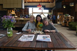 Photo of Hobart Huon Valley and Tahune Forest Airwalk Tour from Hobart meet the 2 lovely grandma Kerry and Shirley