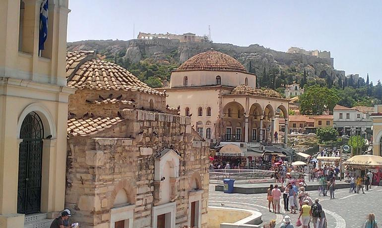 Nice senic picture - Athens