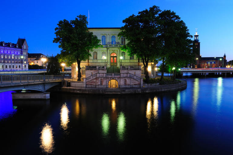 Night ghost tour of Stockholm: Central Stockholm by night - Stockholm