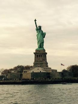 Statue of Liberty/Ellis Island ferry ride , Samantha H - November 2014