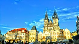 This Old town Square is open for everybody. It's the pride of Prague. The architectural designs of the buildings are amazing. , ginna - October 2015