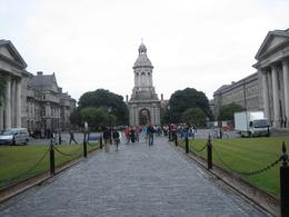 At Trinity College, the meeting place of the tour, Sara T - July 2010