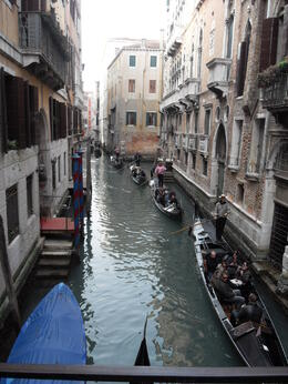 Gondola ride on canal , kev - March 2012