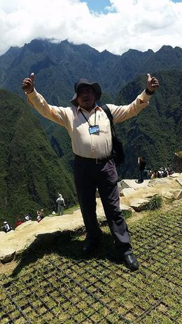 Our amazing tour guide - Johnny , Itzak L - November 2014