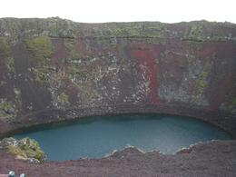 A crater from a volcano that errupted around 6,000 years ago, Kirsty G - October 2010