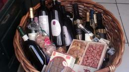 Not a vacation without a basket of wine. - October 2011