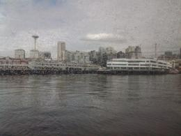 Photo of Victoria High-Speed Passenger Ferry From Victoria, British Columbia to Seattle, Washington Arriving in Seattle
