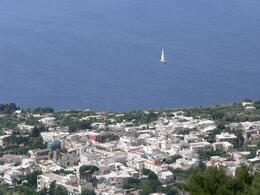 View from Anacapri. - July 2008