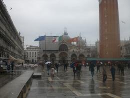 St. Marco's square...cold and rainy but beautiful all the same!, Vicki - December 2010
