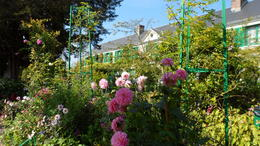 Monet's garden and home in Giverny , James B - September 2014