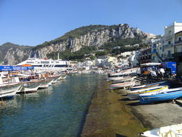 Sea shore at Isle of Capri. , Judy & Mike - September 2011