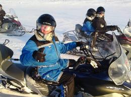 Photo of   Iceland Golden Circle Jeep Tour, Snowmobiling