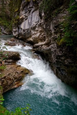 Johnston Canyon , Beijia G - September 2015