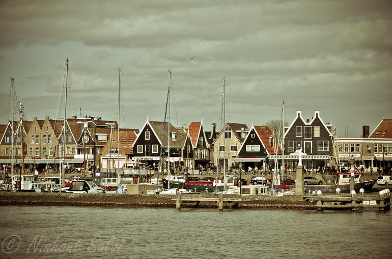 Marken and Volendam villages