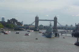 The Iconic London Bridge; one of the great sights we saw on this tour. Drove right over it!! , Leah68 - August 2011