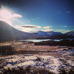 More of the Scottish highlands , Megan O - January 2013