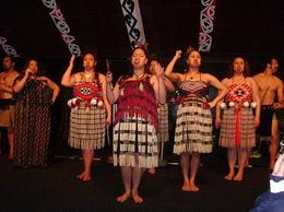 tamaki-maori-village preformance, Kierra - June 2014