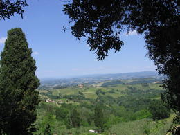 Photo of Florence Siena and San Gimignano Day Trip from Florence The best view from San Gimingnano