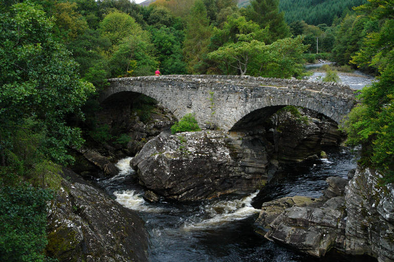 The Bridge at Invermoriston - Edinburgh