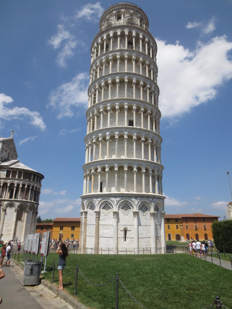 The leaning tower of Pisa - Pisa