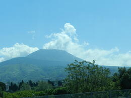 Vesuvius is so high that you can see it from many miles away. It is a beautiful view. , Texo G - May 2012