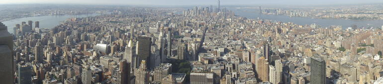 View from empire state - New York City