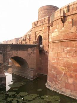 Outside Agra Fort - August 2012