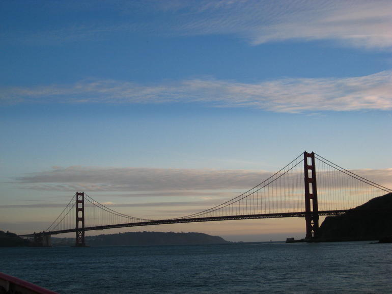 Famous Golden Gate Bridge! - San Francisco