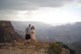 Photo of Phoenix Grand Canyon via Sedona and Navajo Reservation here comes the rain