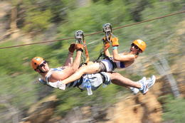 Zipping together!, Casey - October 2013