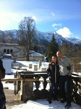 In the gardens of the Linderhof palace - in this moment I asked her for being my wife. , Fabio A - March 2014
