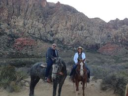Photo of Las Vegas Wild West Sunset Horseback Ride with Dinner photo op